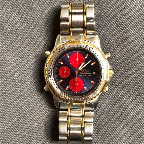 bf9591354ebb Seiko Quartz Divers Chronograph Sports 150 watch.  M 5ba6afd24cdc3044e762d306. Other Accessories ...